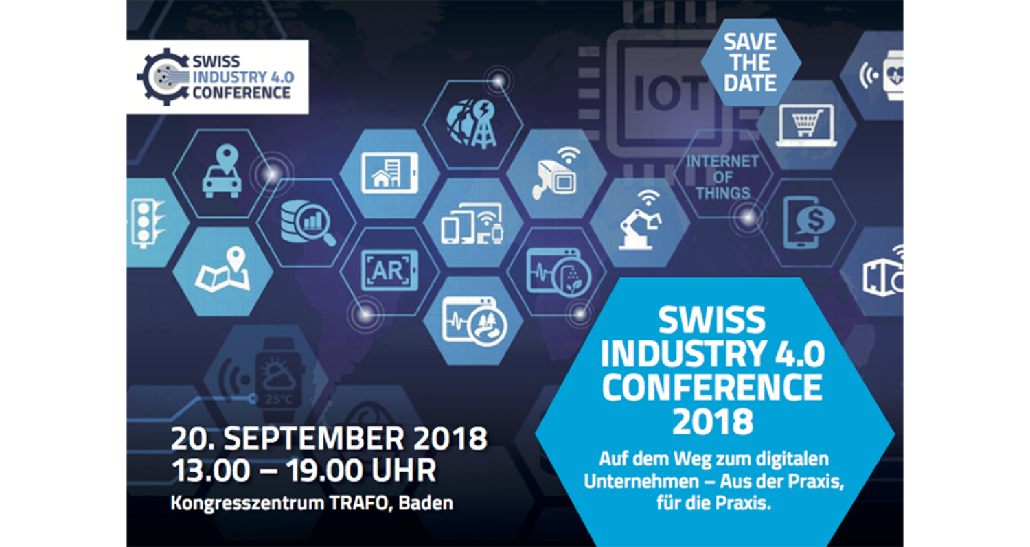 Save the Date - Swiss Industry 4.0 Conference